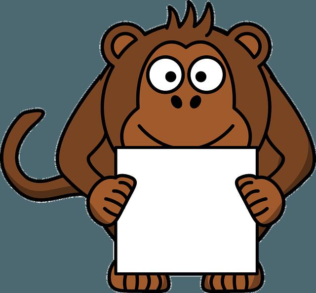 quart de singe